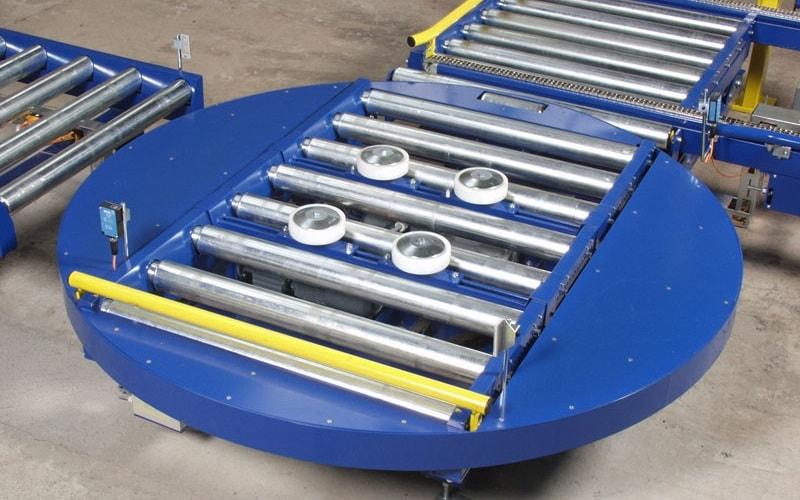 Конвейер с толкателями размер дисков транспортер т5